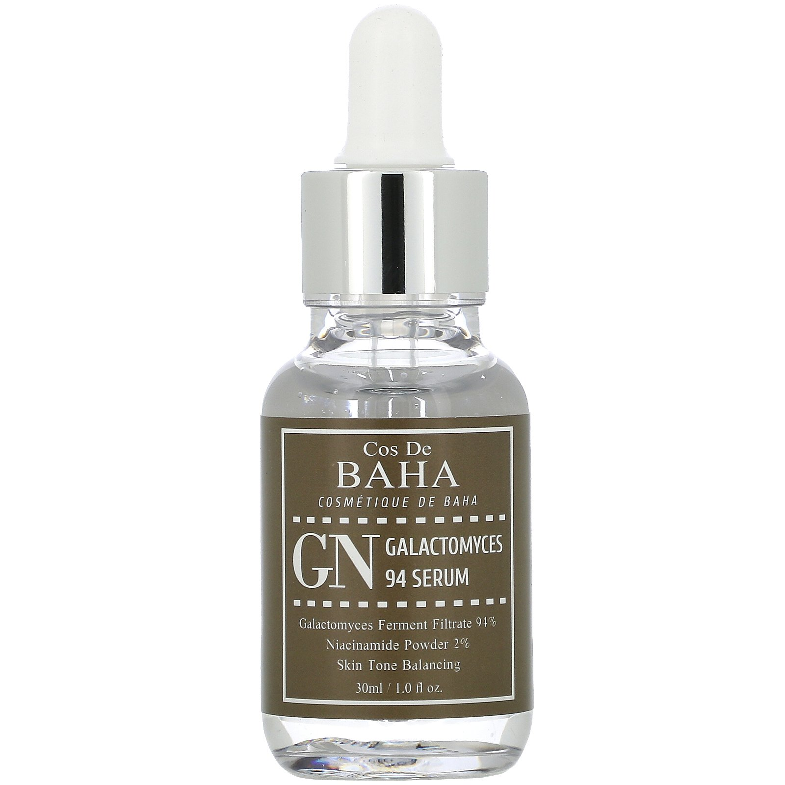 Cos De BAHA, GN, Galactomyces 94 Serum, 1 fl oz (30 ml)