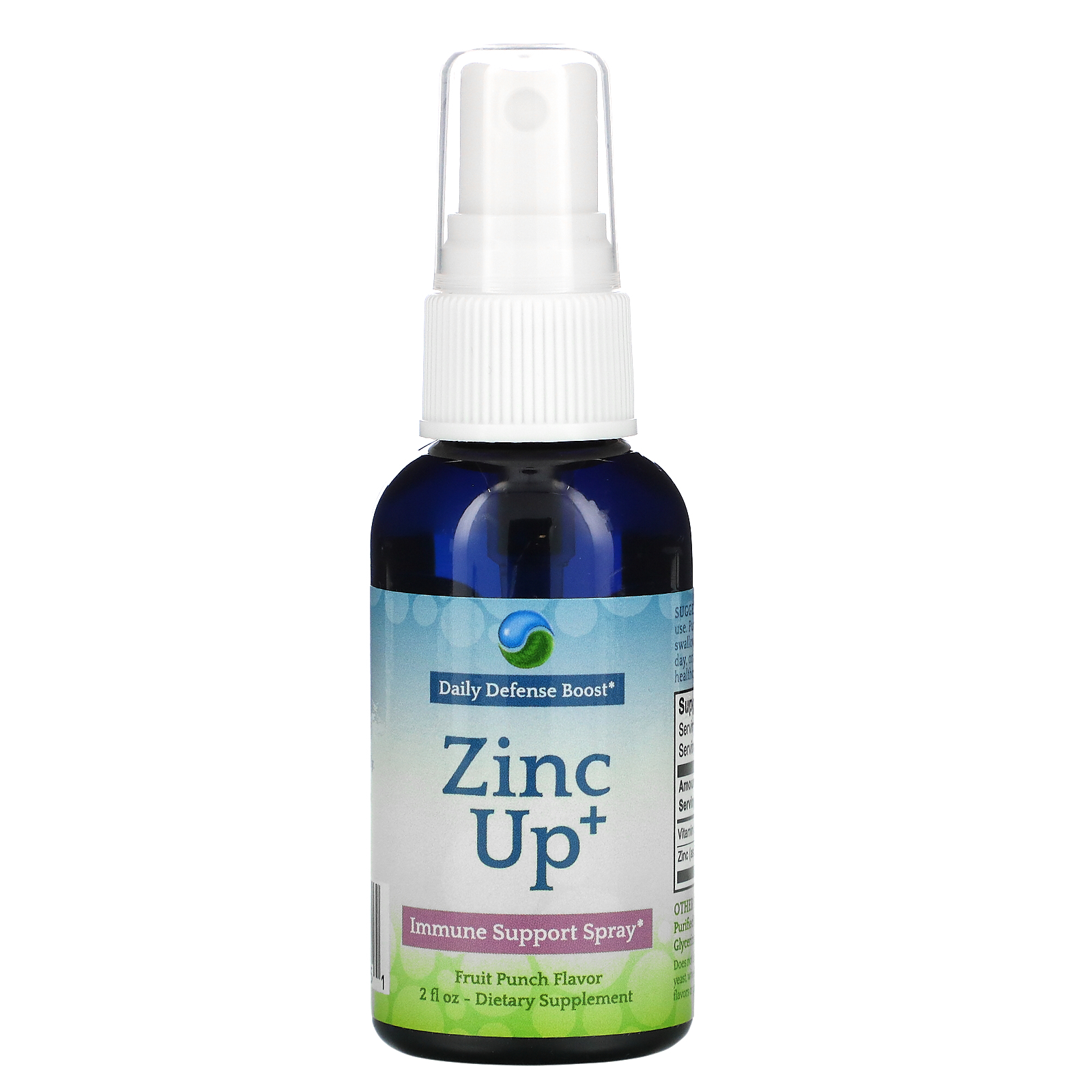 Aerobic Life, Zinc Up+, Immune Support Spray, 2 fl oz