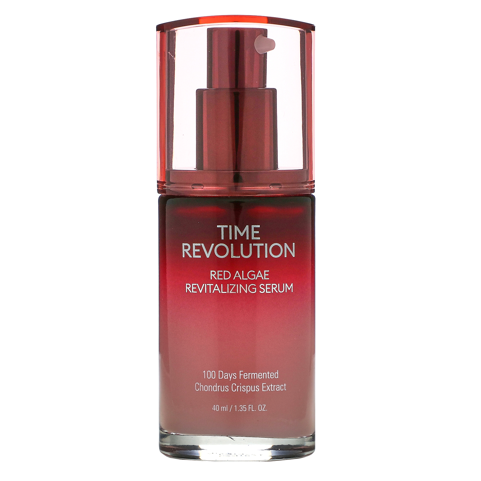 Missha, Time Revolution, Red Algae Revitalizing Serum, 1.35 fl oz (40 ml)