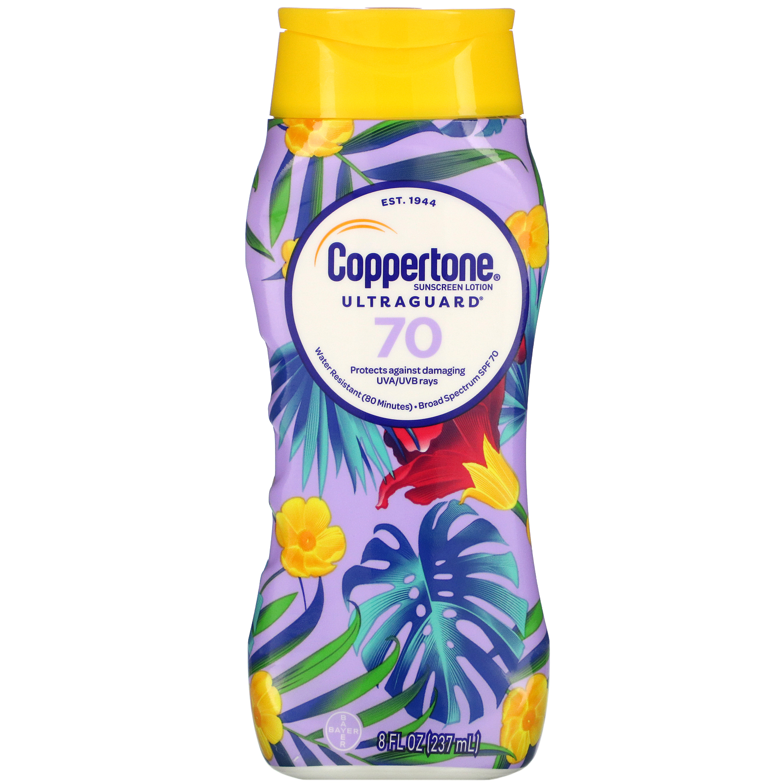Coppertone, Ultra Guard, Sunscreen Lotion, SPF 70, 8 fl oz (237 ml)