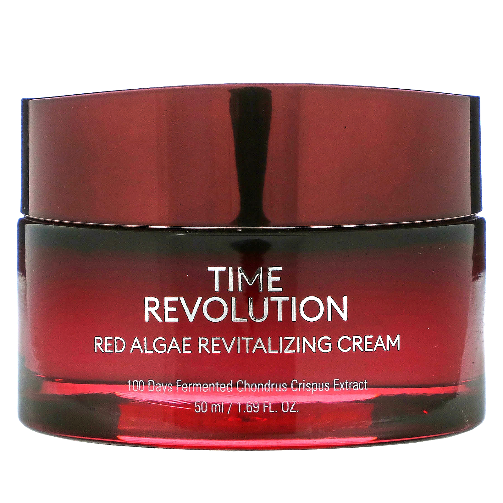Missha, Time Revolution, Red Algae Revitalizing Cream, 1.69 fl oz (50 ml)